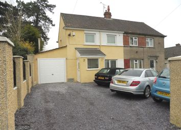 Thumbnail 2 bed semi-detached house for sale in Heol-Y-Frenhines, Bridgend