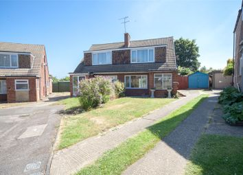 Thumbnail 3 bedroom semi-detached house for sale in Truro Close, Rainham, Kent