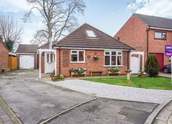 Thumbnail 2 bed detached bungalow for sale in Manor Drive, Elloughton, Brough