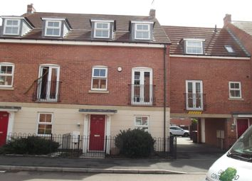 Thumbnail 4 bedroom town house to rent in Griffiths Way, Hucknall, Nottingham