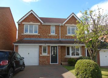 Thumbnail 4 bed detached house for sale in Slaley Court, Bedlington