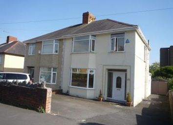 Thumbnail 3 bed semi-detached house to rent in Upper Gendros Crescent, Gendros, Swansea