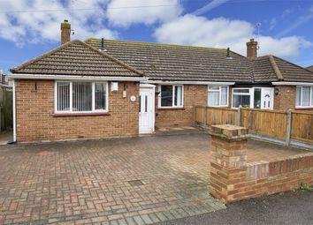 Thumbnail 2 bedroom semi-detached bungalow for sale in Queensbridge Drive, Herne Bay, Kent