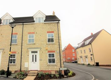 Thumbnail 4 bedroom town house for sale in Dyson Road, Redhouse, Swindon