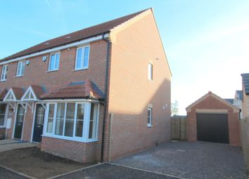 Thumbnail 3 bed semi-detached house to rent in Stud Road, Barleythorpe, Oakham