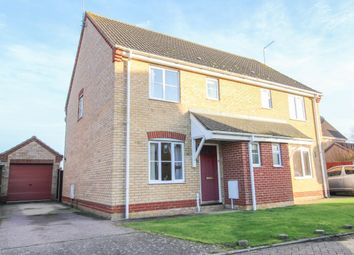 Thumbnail 3 bed semi-detached house for sale in Willow Close, Worlingham, Beccles