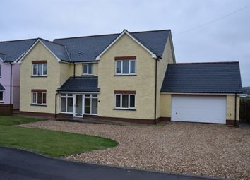Thumbnail 5 bed property for sale in Plot 5, Bowls Road, Blaenporth
