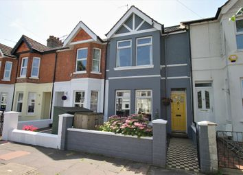 Thumbnail 3 bed terraced house for sale in Southfield Road, Broadwater, Worthing