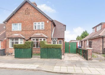 Thumbnail 2 bed semi-detached house for sale in Lorraine Road, Leicester