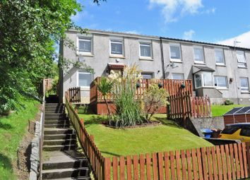 Thumbnail 3 bed end terrace house for sale in 42 Perray Avenue, Dumbarton