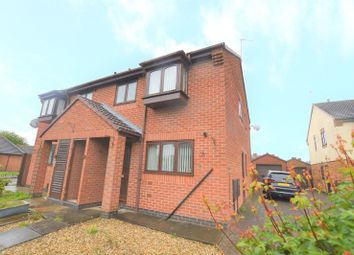 Thumbnail 3 bed semi-detached house to rent in Gibson Close, Wigston, Leicester
