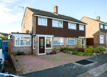 Thumbnail 3 bed semi-detached house for sale in Norman Close, Exmouth