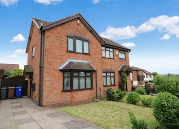 Thumbnail 3 bed semi-detached house for sale in Widecombe Road, Birches Head, Stoke-On-Trent