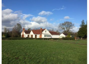 Thumbnail 4 bed detached bungalow for sale in South Row, Caldicot