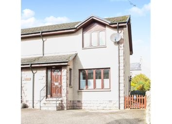 Thumbnail 2 bedroom semi-detached house for sale in Southview Terrace, Aberchirder, Huntly