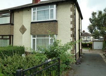 Thumbnail 2 bed semi-detached house to rent in Calverley Moor Avenue, Pudsey