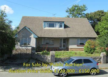 Thumbnail 4 bedroom detached bungalow for sale in Lawnside, Feidr Castell, Fishguard, Pembrokeshire