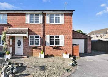 Thumbnail 5 bed semi-detached house for sale in Homefield Close, Horley, Surrey