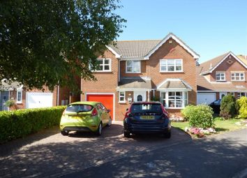 Thumbnail 4 bed detached house for sale in The Cornfields, Weston-Super-Mare
