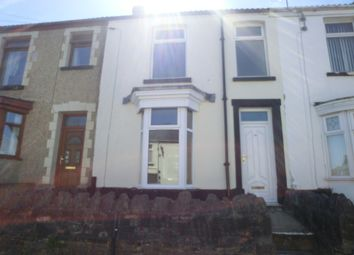 Thumbnail 2 bed terraced house to rent in Colbourne Terrace, Waun Wen, Swansea.