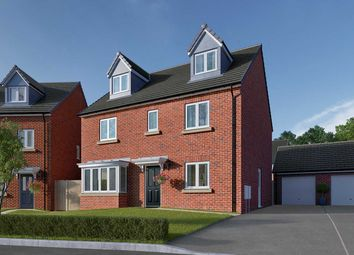 "Thumbnail 5 bedroom detached house for sale in ""The Fletcher"" at Ripon Road, Killinghall, Harrogate"