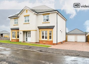 Thumbnail Detached house for sale in Rosehall Drive, Uddingston, Glasgow