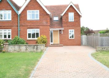 Thumbnail 4 bed semi-detached house to rent in Upper Green Road, Shipbourne, Tonbridge