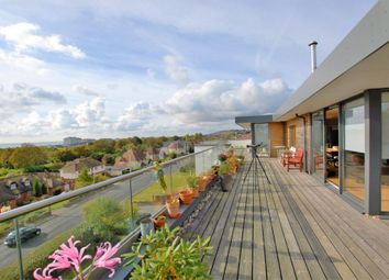 Thumbnail 4 bed penthouse for sale in Seabrook Road, Hythe