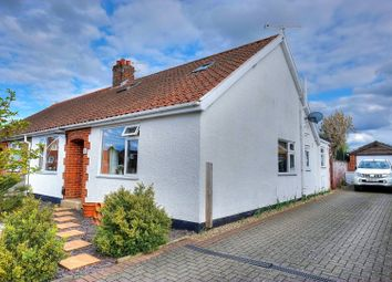 Thumbnail 4 bed semi-detached bungalow for sale in Gorse Avenue, Norwich