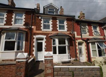 Thumbnail 4 bed terraced house for sale in Sherwell Hill, Chelston, Torquay, Devon