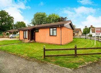 Thumbnail 2 bed bungalow for sale in Old Manor Park, Church Road, Grafham, Huntingdon