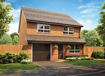 "Thumbnail 4 bedroom detached house for sale in ""Tewkesbury"" at Stretton Road, Stretton, Warrington"