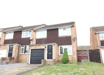 Thumbnail 3 bed semi-detached house to rent in Bartons Drive, Yateley
