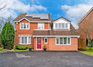 Thumbnail 5 bed detached house for sale in Kensington Place, Heath Hayes, Cannock
