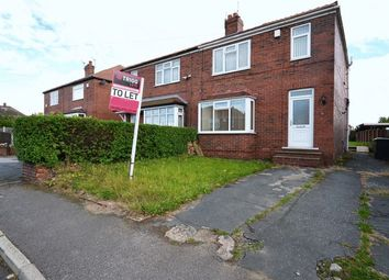 Thumbnail 3 bed semi-detached house to rent in Ledbury Road, Barnsley