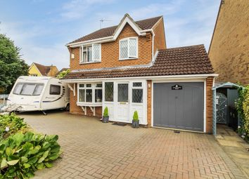Thumbnail 3 bed detached house for sale in Pyes Meadow, Elmswell, Bury St Edmunds