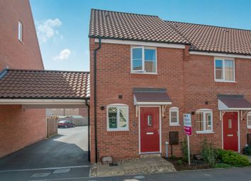 Thumbnail 2 bed end terrace house for sale in Canberra Road, Carbrooke, Thetford