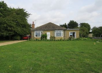 Thumbnail 4 bed detached bungalow for sale in Elton Road, Stibbington, Peterborough