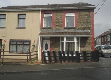 Thumbnail 4 bed semi-detached house for sale in Aberfawr Road, Abertridwr, Caerphilly