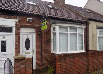 Thumbnail 2 bedroom cottage to rent in Harlow Street, Sunderland