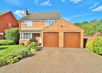 Thumbnail 4 bed detached house for sale in Vinehouse Close, Thurcaston, Leicestershire