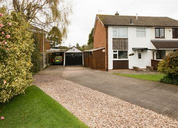 Thumbnail 3 bed semi-detached house for sale in The Paddock, Codsall, Wolverhampton, Staffordshire