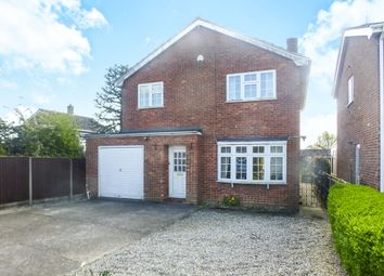 Thumbnail 4 bedroom detached house for sale in Dereham Road, Shipdham, Thetford