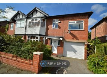 Thumbnail 4 bed semi-detached house to rent in Norwood Avenue, Salford