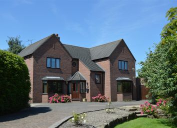 Thumbnail 4 bed detached house for sale in Salem Road, Coedpoeth, Wrexham