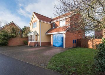 Thumbnail 4 bed detached house for sale in Mardle Street, Three Score, Norwich