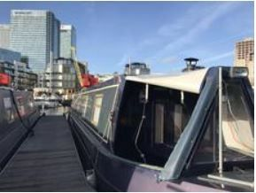 Thumbnail 1 bedroom flat for sale in Boardwalk Place, Canary Wharf