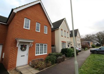 Thumbnail 3 bed link-detached house to rent in Jersey Drive, Winnersh, Wokingham