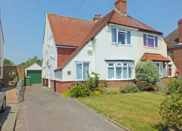 Thumbnail 3 bed terraced house for sale in Shorncliffe Crescent, Folkestone