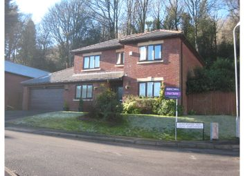 Thumbnail 4 bed detached house for sale in Snatchwood View, Pontypool